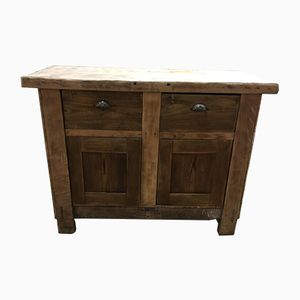 Solid Wood Workbench, 1930s