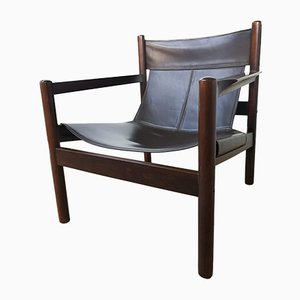 Roxinho Safari Armchairs by Michel Arnoult, 1960s, Set of 2