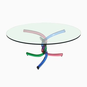 Murano Glass Coffee Table from Seguso, 1970s