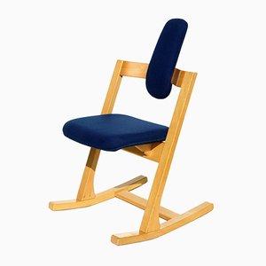 Rocking Chair Pendulum Vintage par Peter Opsvik pour Stokke, 1980s