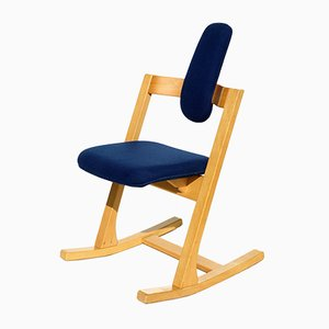 Vintage Pendulum Rocking Chair by Peter Opsvik for Stokke, 1980s
