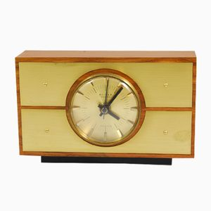 Vintage Fireplace Clock from Weimar