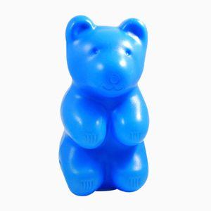 Lampada da notte Teddy Bear vintage blu