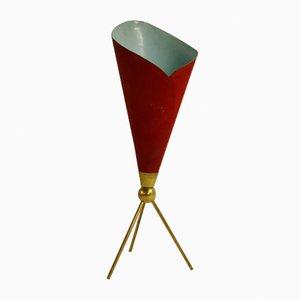 Lampada da tavolo Calla vintage di Angelo Lelli per Arredoluce, anni '50