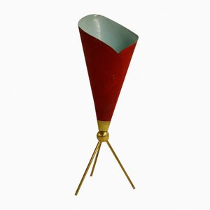 Vintage Calla Table Lamp by Angelo Lelli for Arredoluce, 1950s