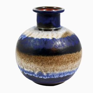 Vintage Keramikvase von Ü-Keramik, 1960er