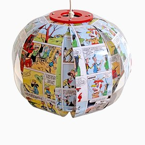 Lucky Luke Comic Lamp by Bomdesign
