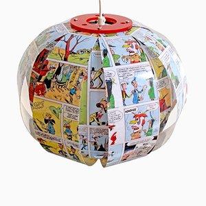 Lucky Luke Comicbuch-Lampe von Bomdesign