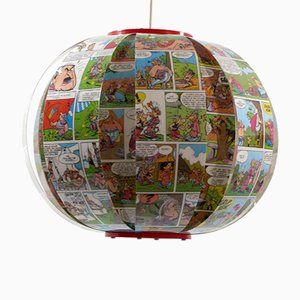 Asterix & Obelix Comic Book Pendant Lamp from Bomdesign