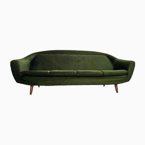 Sofá verde vintage de Greaves & Thomas