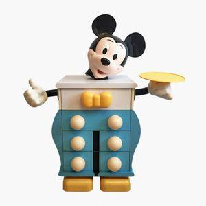 Comò Mickey Mouse vintage di Pierre Colleu