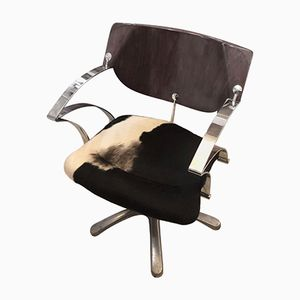 Vintage Italian Hairdresser's Chair from Sassi Arredamenti, 1980s