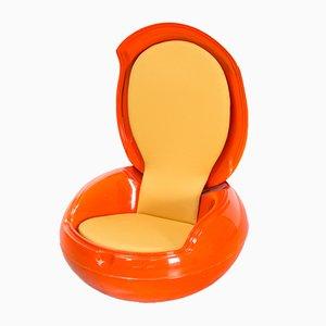 Sedia rotonda di Peter Ghyczy, anni '60