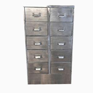 Vintage Industrial Filing Cabinet, 1970s