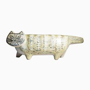 Gatto in ceramica di Lisa Larson per Gustavsberg, anni '50