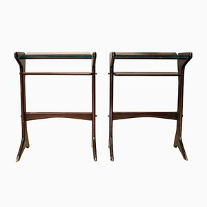 Vintage Nightstands by Ico Parisi for Angelo De Baggis, 1954, Set of 2