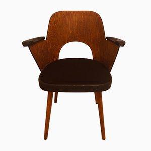 Vintage Stuhl von Oswald Haerdtl für TON, 1950er