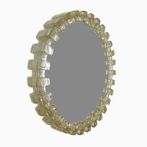 Round Lit Acrylic Mirror from Hillebrand Lighting, 1970s