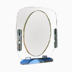 Vintage Lit Mirrors, 1970s, Set of 2