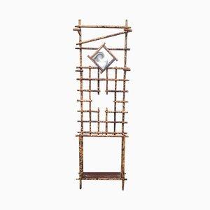 Vintage Bamboo Coat Rack, 1960s