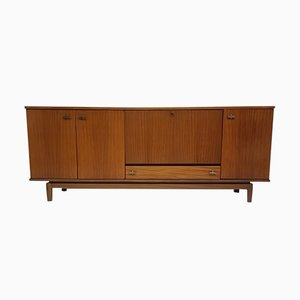 Vintage Sideboard by Marcel Gascoin for Alvéole, 1960s