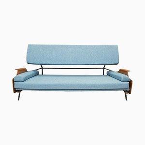Sofá cama vintage de Vittorio Nobili, años 50