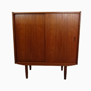 Danish Teak Cabinet with Drawers, 1960s
