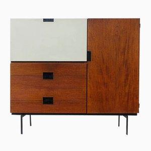 Mobiletto CU06 della serie giapponese di Cees Braakman per Pastoe, anni '50