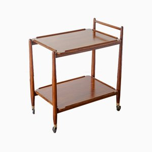 Vintage Teak Drinks Trolley from White and Newton