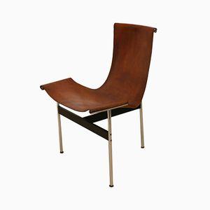 Chaise 3LC T par William Katavolos & Ross Littell pour Laverne International, 1950s