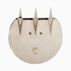 Masque Décoratif Diavoletto par Gio Ponti pour Christofle, 1978