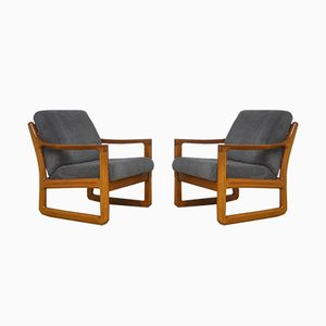 Danish Armchairs from Silkeborg, 1960s, Set of 2