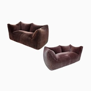 Le Bambole Sofas by Mario Bellini for B&B, 1975, Set of 2