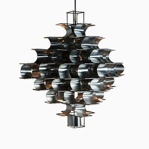 Lámpara de techo Cassiopée grande de Max Sauze, 1972
