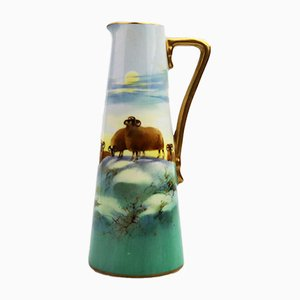 British Jug by H Nixon for Royal Doulton, 1910