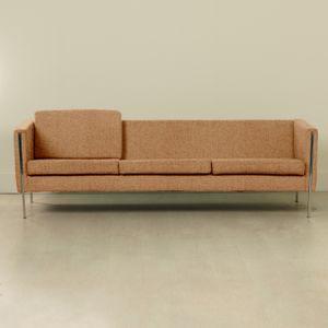 Personalisierbares 442 Sofa von Pierre Paulin für Artifort, 1960er in Terrakotta