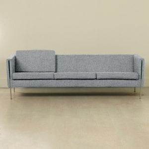 Customizable 442 Sofa by Pierre Paulin for Artifort, 1960s in Stone Grey