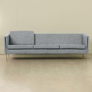 Personalisierbares 442 Sofa von Pierre Paulin für Artifort, 1960er in Steingrau