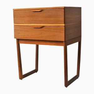 Table de Chevet Mid-Century, 1970s