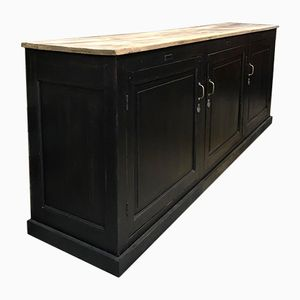 Antique Patinated Sideboard, 1930s