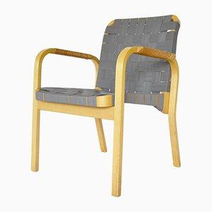Vintage Armlehnstühle von Alvar Aalto für Artek, 2er Set