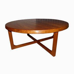 Vintage Danish Teak Coffee Table by Niels Bach, 1960s