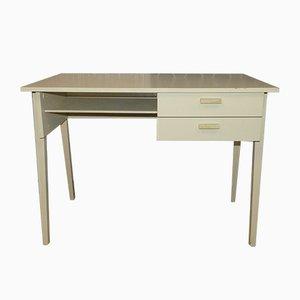 Vintage White Desk, 1970s