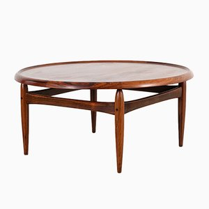 Mid-Century Rosewood Coffee Table by Kurt Ostervig for Jason Mobler