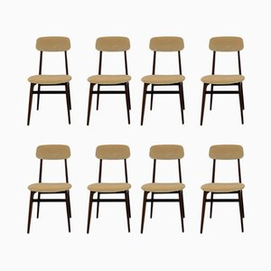 Vintage Italian Dining Chairs, 1960s, Set of 8
