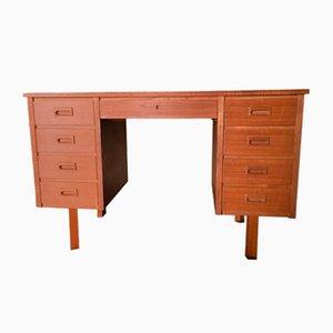 Schwedischer Schreibtisch aus Teak, 1960er