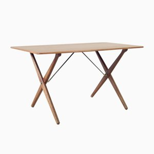Tavolino da caffè At308 di Hans J. Wegner per Andreas Tuck, anni '50