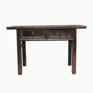 19th-Century Chinese Rustic Hall Table, 1880s