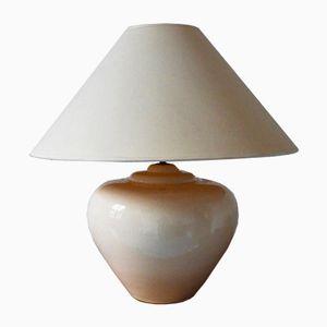 Große Tischlampe von François Chatain, 1970er