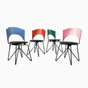 Sofia Stühle von Carlo Bartoli für Bonaldo, 1989, 4er Set